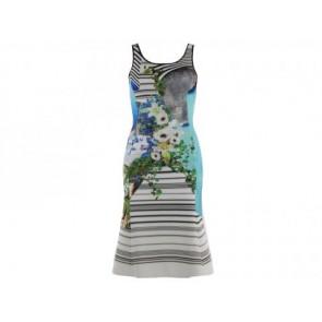 Clover Canyon Blue Midi Dress