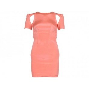 Dion Lee Peach Midi Dress