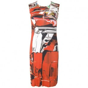 Mary Katrantzou Red Midi Dress