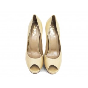 Yves Saint Laurent Beige Heels