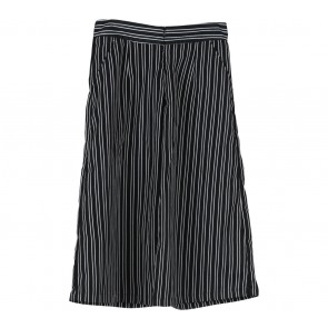 Cotton Ink Black And White Striped Pants