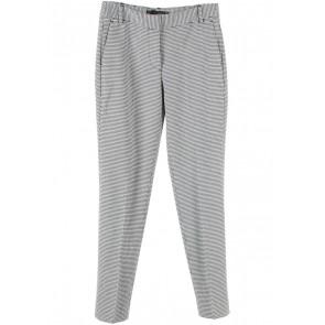 Zara Black And White Plaid Pants