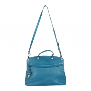 Furla Blue Satchel