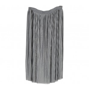Monki Grey Midi Skirt
