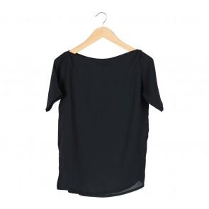 Shop At Velvet Black Sabrina Loose Blouse