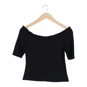 River Island Black Sabrina T-Shirt