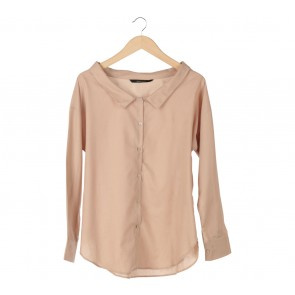 Shop At Velvet Brown Basic Shirt