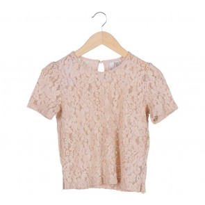 Brown Lace Blouse