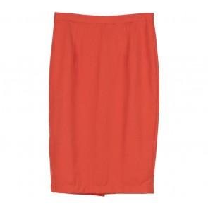 Shop At Velvet Orange Pencil Midi Skirt