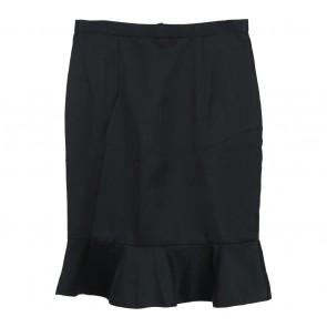 Shop At Velvet Black Scallop Skirt