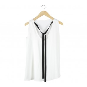 Shop At Velvet Off White Sleeveless