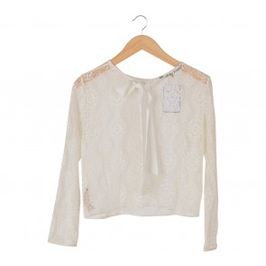 Shop At Velvet White Lace Bowed Others