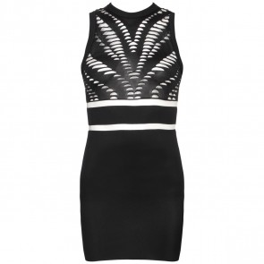 Alexander Wang Black Midi Dress
