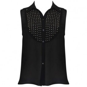 Elizabeth and James Black Sleeveless
