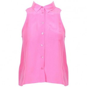 Equipment Femme Pink Sleeveless