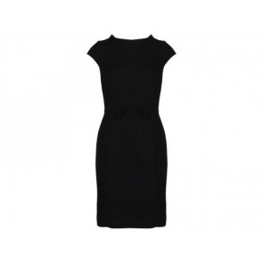 Milly Black Midi Dress