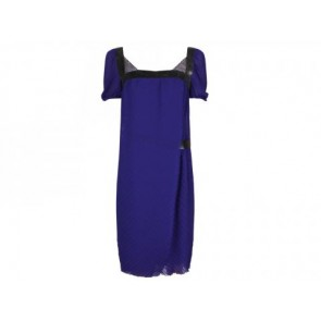 Philosophy by Alberta Ferretti Blue Midi Dress