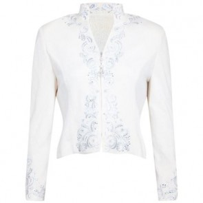 St. John Evening Off White Cardigan
