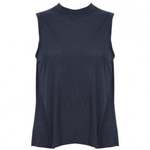 T by Alexander Wang Blue Sleeveless