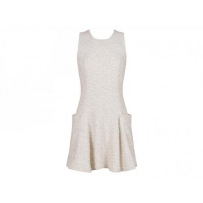 Theyskens´ Theory White Midi Dress