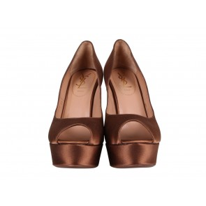 Yves Saint Laurent Brown Heels