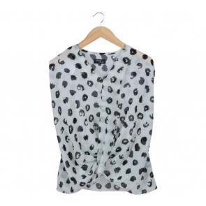 Hunting Fields Black And White Blouse
