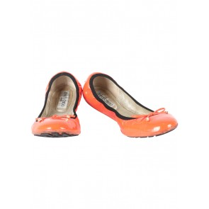 Jimmy Choo Orange Flats