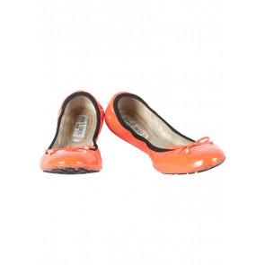Jimmy Choo Orange Flats