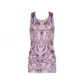 Alexander McQueen Purple Sleeveless