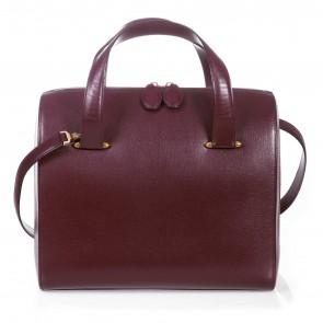 Cartier Maroon Tote Bag