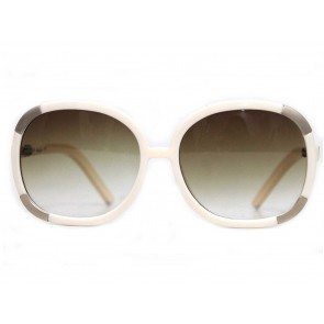 Chloe White Sunglasses
