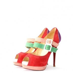 Christian Louboutin Multi Colour Heels