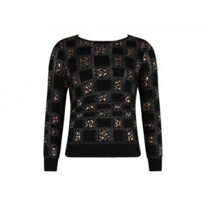 Giambattista Valli Black Sweater