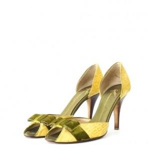 Giuseppe Zanotti Yellow Heels