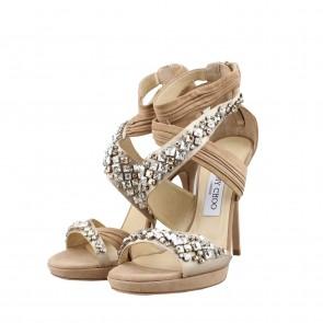 Jimmy Choo Beige Sandals