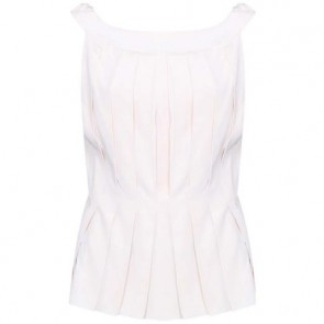Louis Vuitton Cream Sleeveless