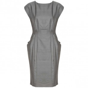 Rag & Bone Grey Midi Dress