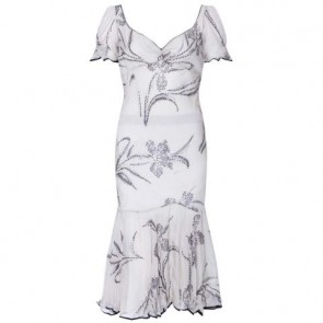 Ralph Lauren Grey Midi Dress