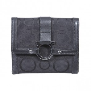 Salvatore Ferragamo Black Wallet
