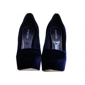 Sergio Rossi Dark Blue Heels