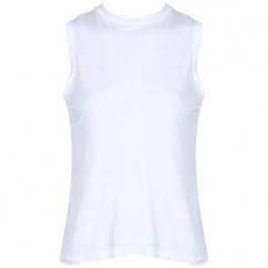 T by Alexander Wang White Sleeveless