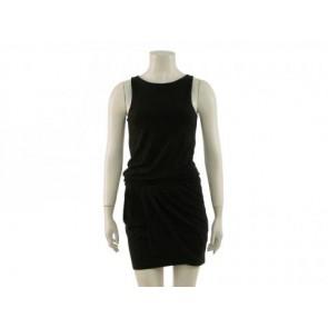 TheoryX Black Midi Dress