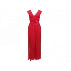 Vera Wang Lavender Label Red Long Dress