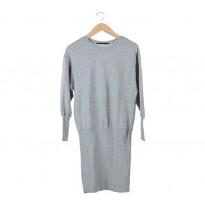 Zara Grey Midi Dress
