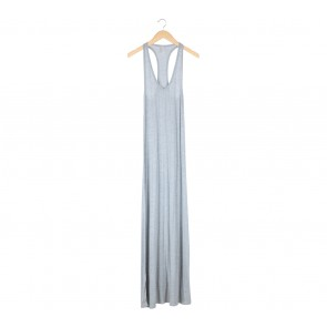 Lily Jean Grey Sleeveless Long Dress