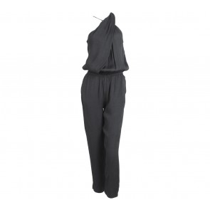 Mango Black Sleeveless Jumpsuit