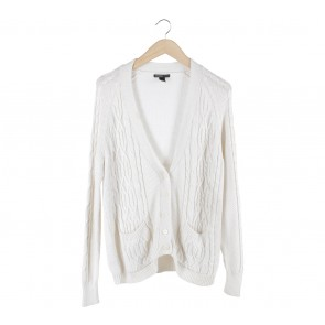Mango Off White Cardigan