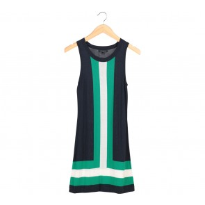 Banana Republic Multi Colour Sleeveless Mini Dress