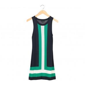 Banana Republic Multi Colour Sleeveless Mini Dress