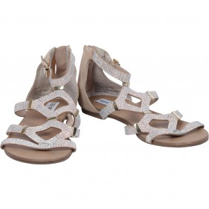 Steve Madden Cream Sandals